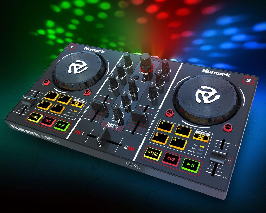 Diventa DJ numark party mix