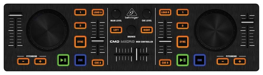 Mini controller DJ - BEHRINGER CMD top