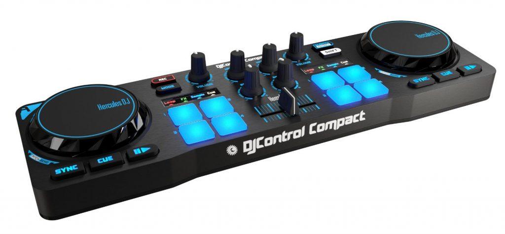 Mini controller DJ -Hercules DJ Control Compact