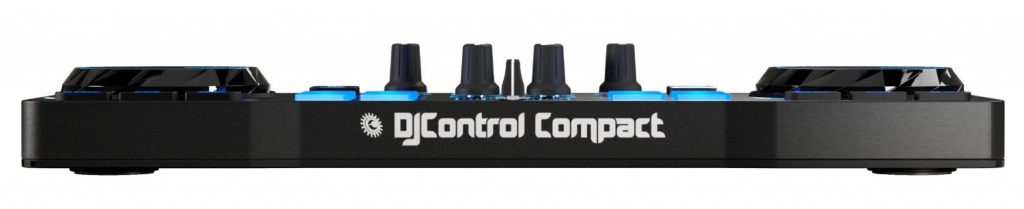 Mini controller DJ -Hercules DJ Control Compact - Fronte